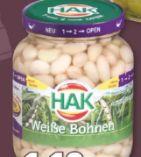 Weiße Bohnen von HAK