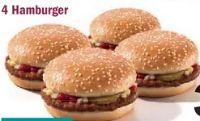 4x Hamburger von Kochlöffel