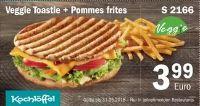 Veggie Toastie + Pommes frites S 2166 von Kochlöffel