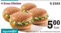 4 Kross-Chicken S 2163 von Kochlöffel