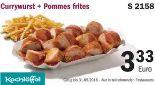Currywurst + Pommes Frites S 2158 von Kochlöffel