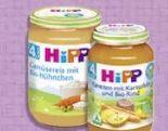 Menü ab 4. Monat von HiPP