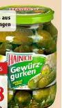 Gewürzgurken von Hainich