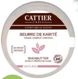 Bio-Sheabutter von Cattier