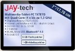 Multimedia-Tablet-PC TXTE7D von Jay-Tech