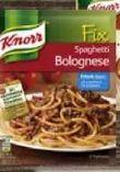 Fix Bolognese Arrabbiata von Knorr