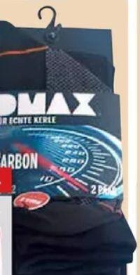 Herren-Socken Carbon von Dmax