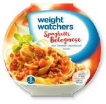 Fertiggerichte von Weight Watchers