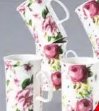 Kaffeebecher Rosen