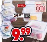 Vorratsdosenset 9-tlg. von Prima Cucina