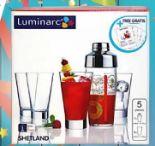 Cocktail-Set Shetland 5-tlg. von Luminarc