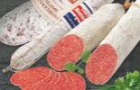 Salami-Aufschnitt