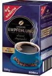 Unsere Empfehlung Kaffee von Gut & Günstig