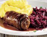 Rinderroulade mit Rotkraut und Kartoffelstampf von Karstadt