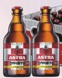 Bier von Brauerei Astra