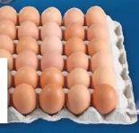 Roosters-Eier