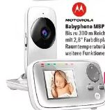 Babyphone MBP 482 von Motorola