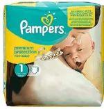 New Baby Premium Protection Windeln von Pampers