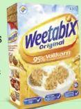 Original Cerealien von Weetabix