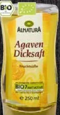 Agaven Dicksaft von Alnatura