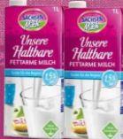 Unsere Haltbare Fettarme Milch von Sachsenmilch