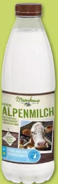 Alpenmilch von Meierkamp