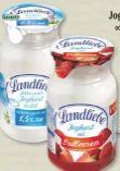 Joghurt auf Frucht von Landliebe