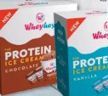 Protein Ice Cream von Wheyhey
