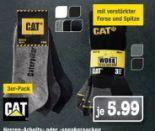 Herren Arbeitssocken 3er Pack von CAT