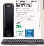 Aspire XC 730 Slim PC von Acer
