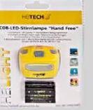 Besonders starke COB-LED-Clip-Leseleuchte von Heitech