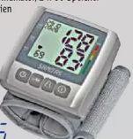 Handgelenk-Blutdruckmessgerät SBC 21 von Sanitas