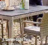 Garten-Stuhl Peru