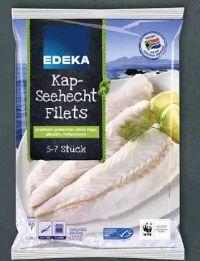 Kap-Seehecht-Filets von Edeka