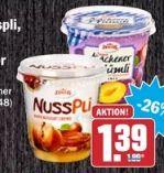 Nusspli  Nuss-Nougat-Creme von Zentis