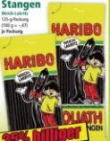 Goliath Lakritz-Stangen von Haribo