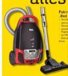 Bodenstaubsauger Red Vac TS 120 von Fakir