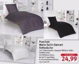Premium Mako-Satin-Damast Bettwäsche