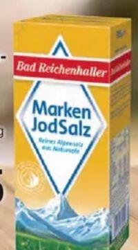 Alpen Jod Salz von Bad Reichenhaller
