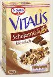 Vitalis Schokomüsli von Dr. Oetker