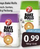 Bake Rolls von 7 Days