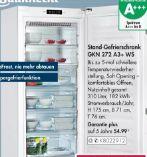 Stand-Gefrierschrank GKN 272 A3+ WS von Bauknecht