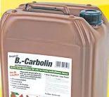 Holzlasur von B.-Carbolin