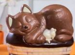 Schoko-Katzenkörbchen