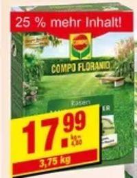 Floranid Rasen-Langzeit-Dünger von Compo