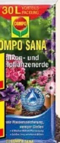 Balkon- und Kübelpflanzenerde von Compo Sana