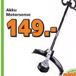 Akku-Motorsense 80 Volt von Greenworks