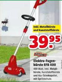 Elektro-Fugenbürste EFB 400 von Go/On!