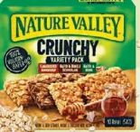 Müsliriegel von Nature Valley