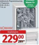 Geschirrspüler GSP 855 von Bomann